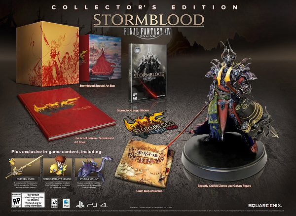 final fantasy 14 stormblood collectors edition