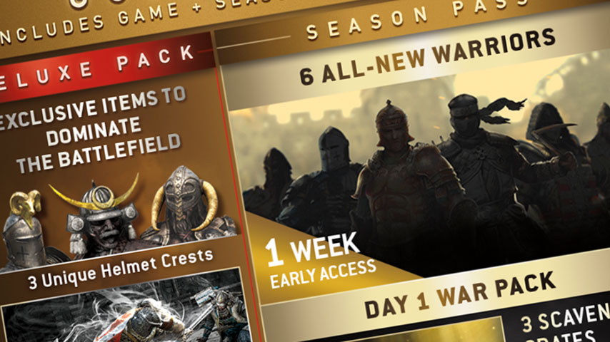 For Honor's season pass leaked by Ubisoft