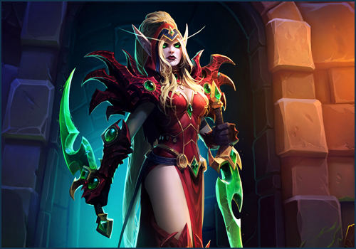 heroes of the storm demon hunter valeera