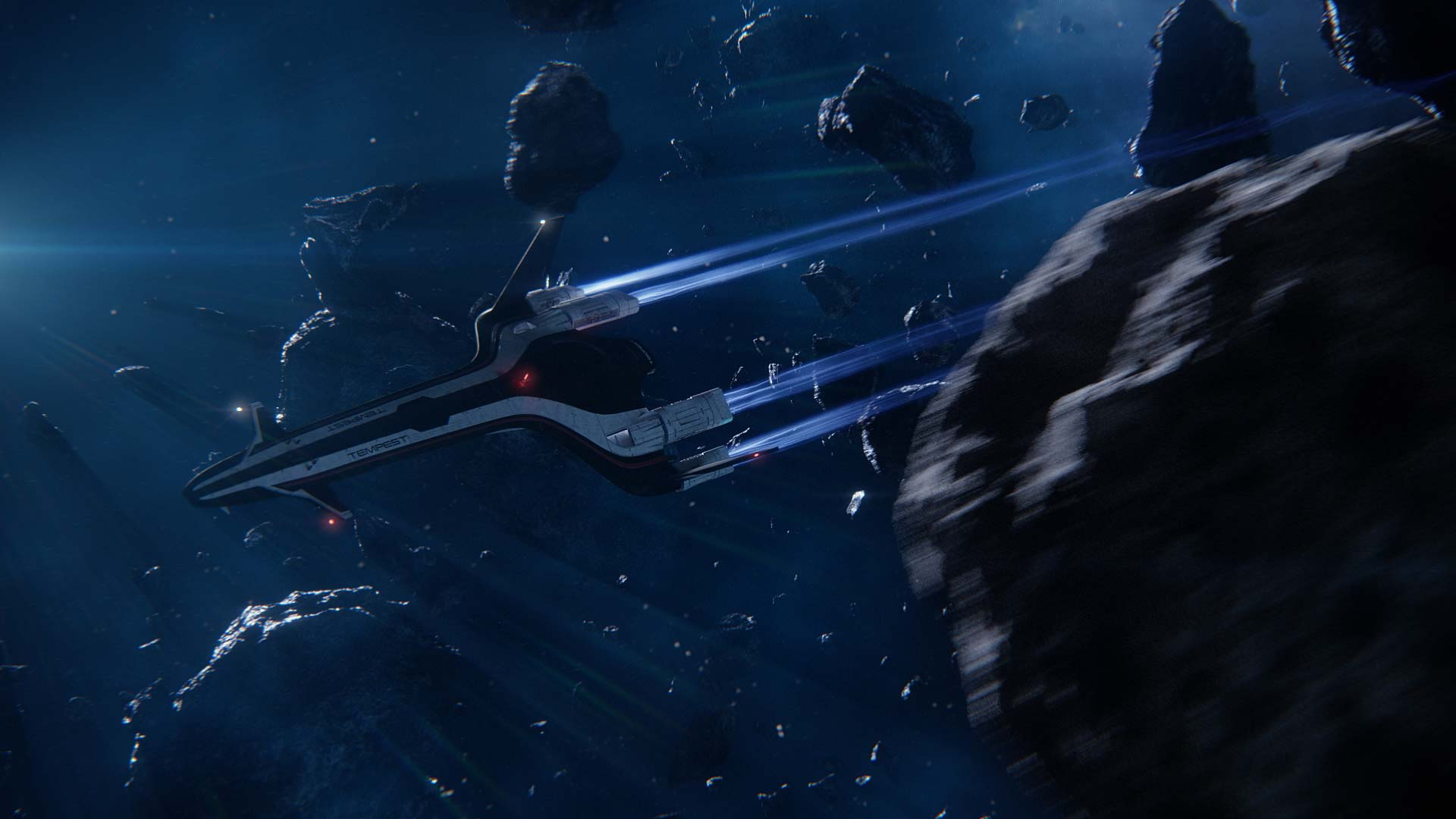 Check Out Mass Effect Andromeda S Tempest And Nomad In Latest