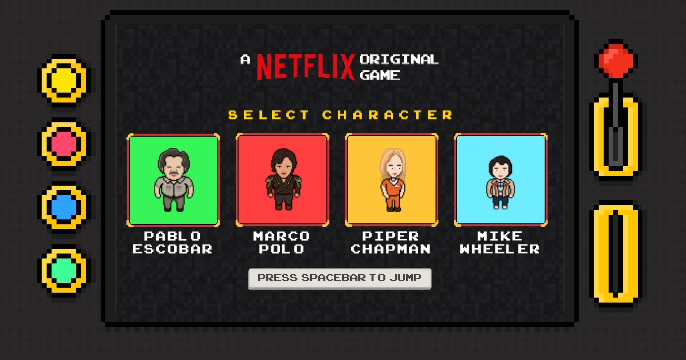 netflix endless runner game