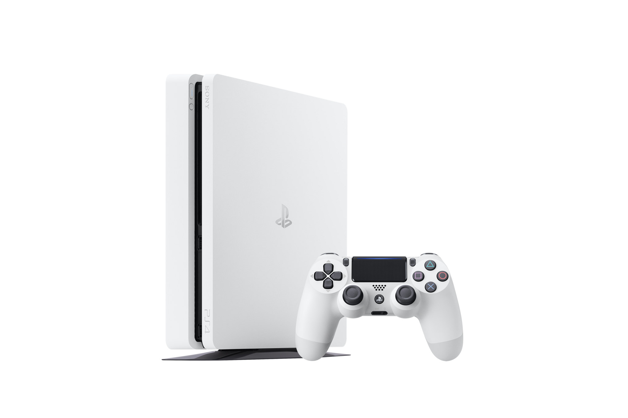 ps4_slim_glacier_white_standing_with_controller_shot_1