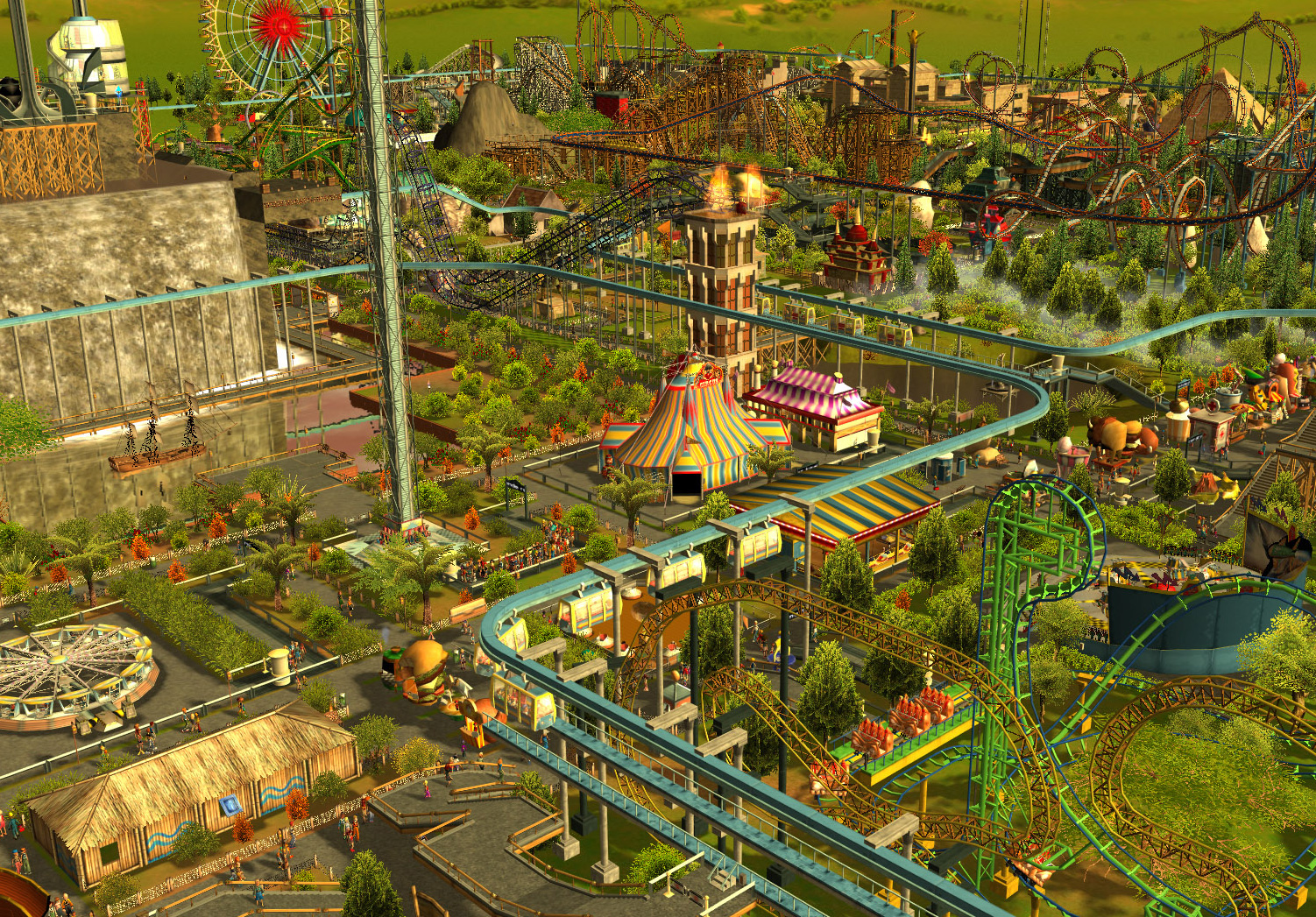Frontier Developments Sues Atari Over Royalties for RollerCoaster Tycoon 3
