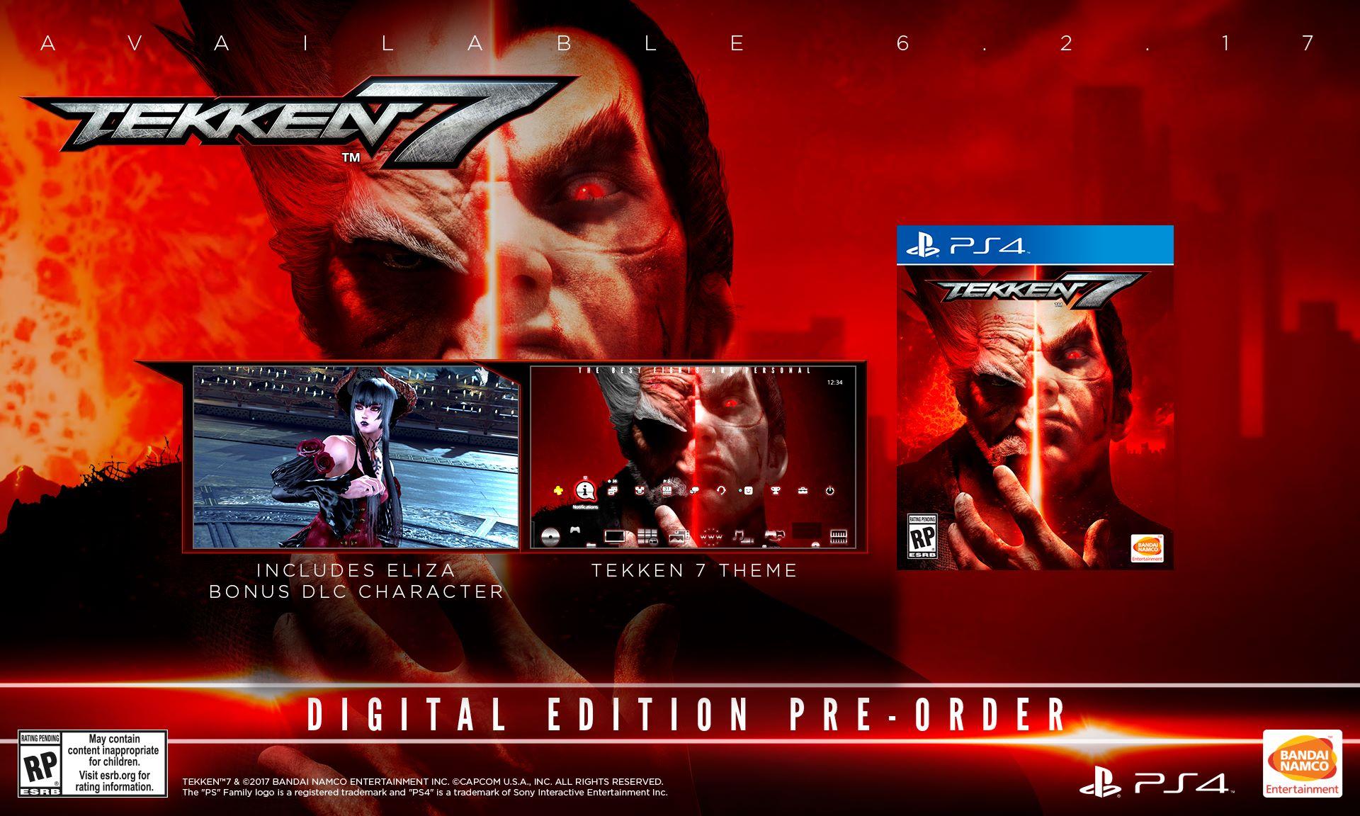 Tekken 7 gets a June release date, story-heavy trailer - VG247
