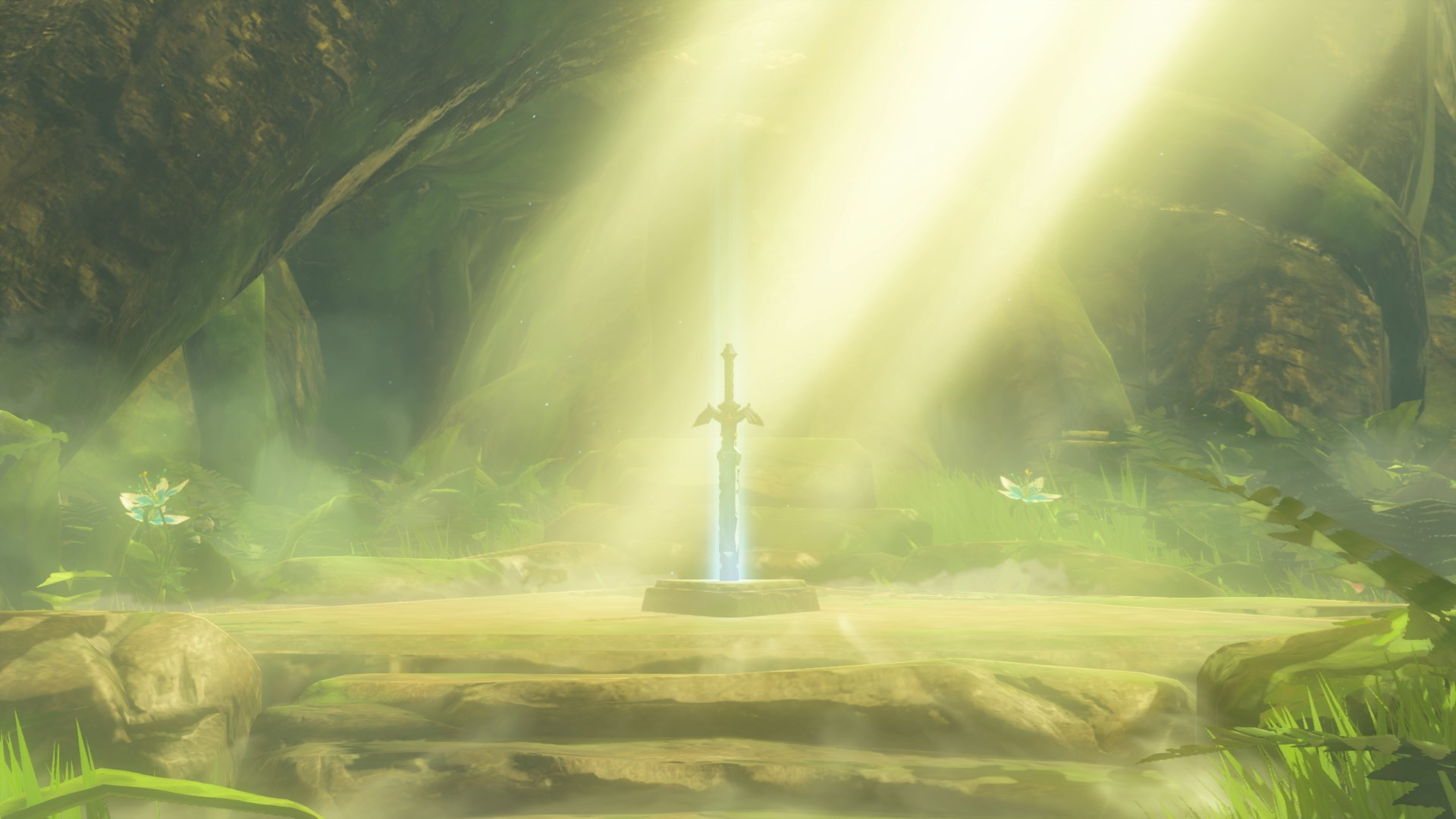 Resultado de imagen de zelda breath of the wild master sword