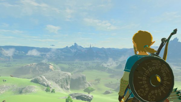 Breath of the Wild Switch vista screenshot.