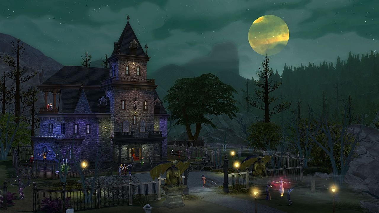 Vampires Are Coming to Sims 4