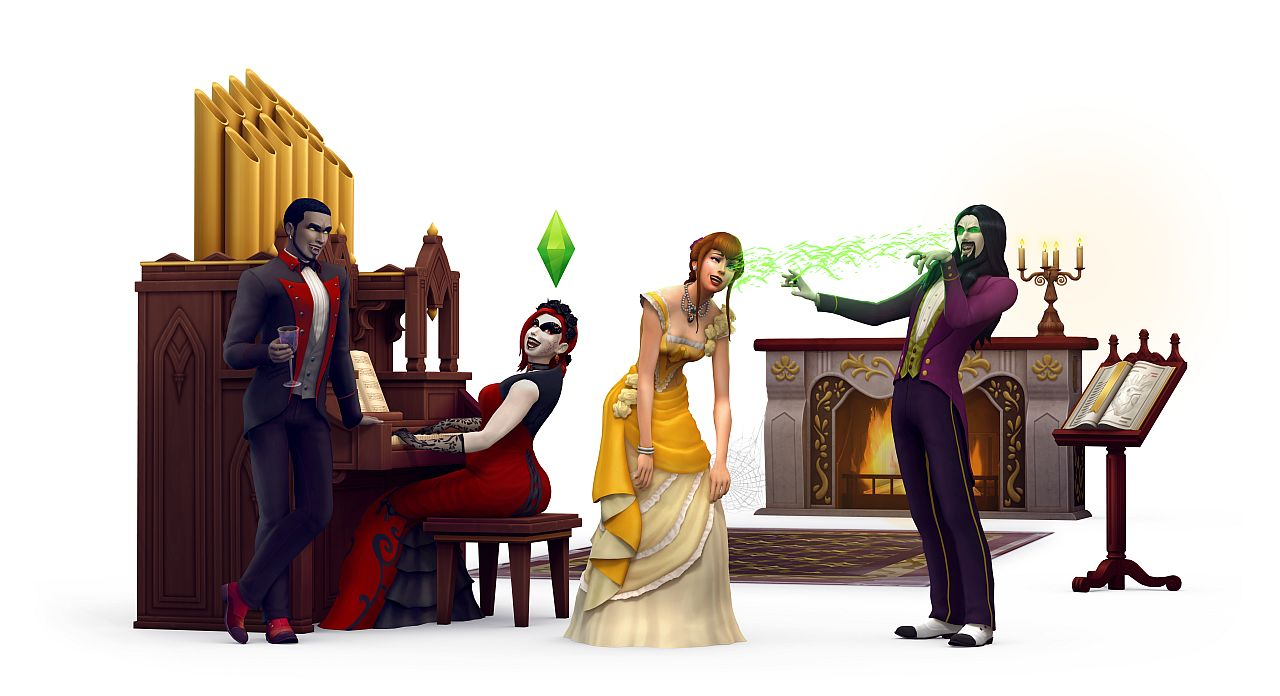 The Sims 4 Vampire Game Pack Gets an Official Teaser