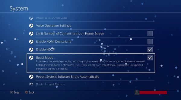 PS4 firmware replace four 50 brings exterior HDD assist