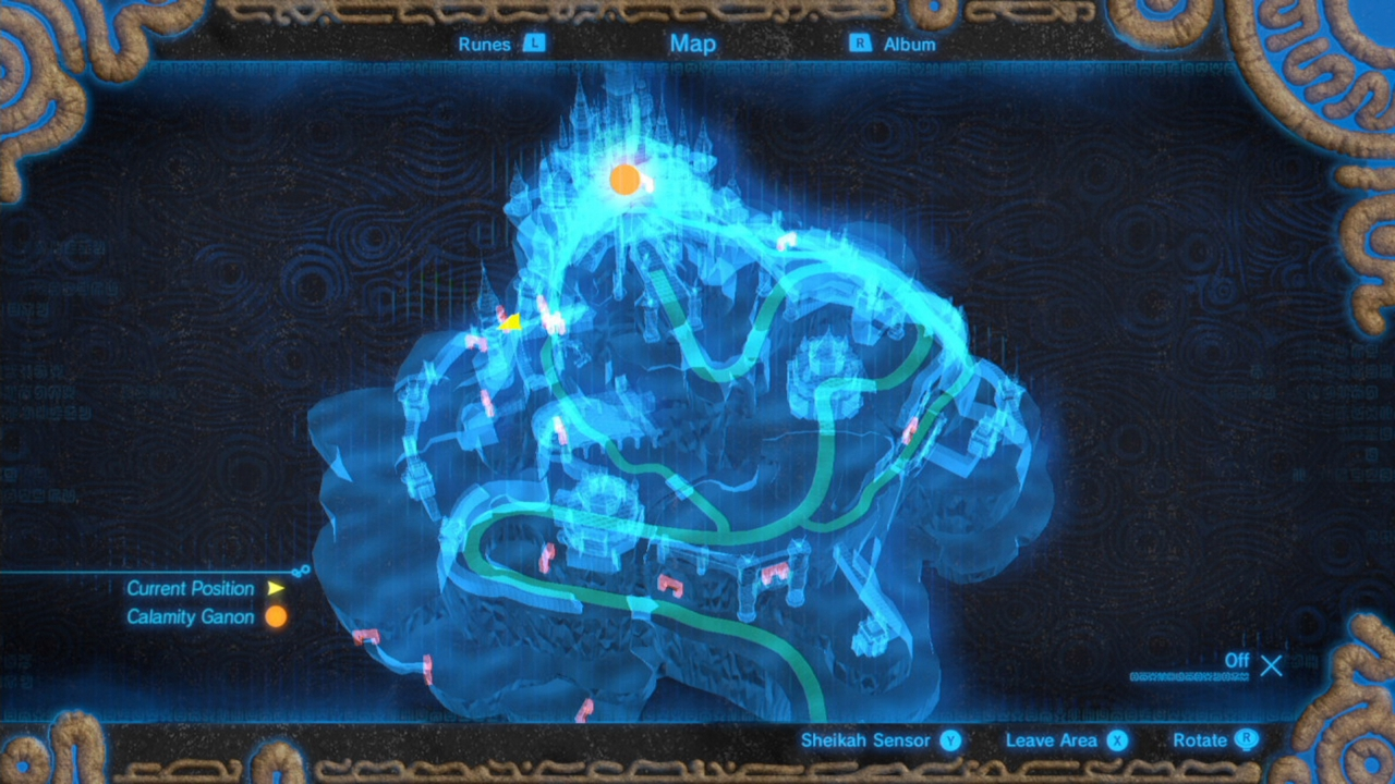 Zelda Breath Of The Wild Guide All Recovered Memory Locations