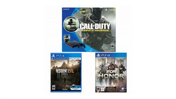 PS4 three games