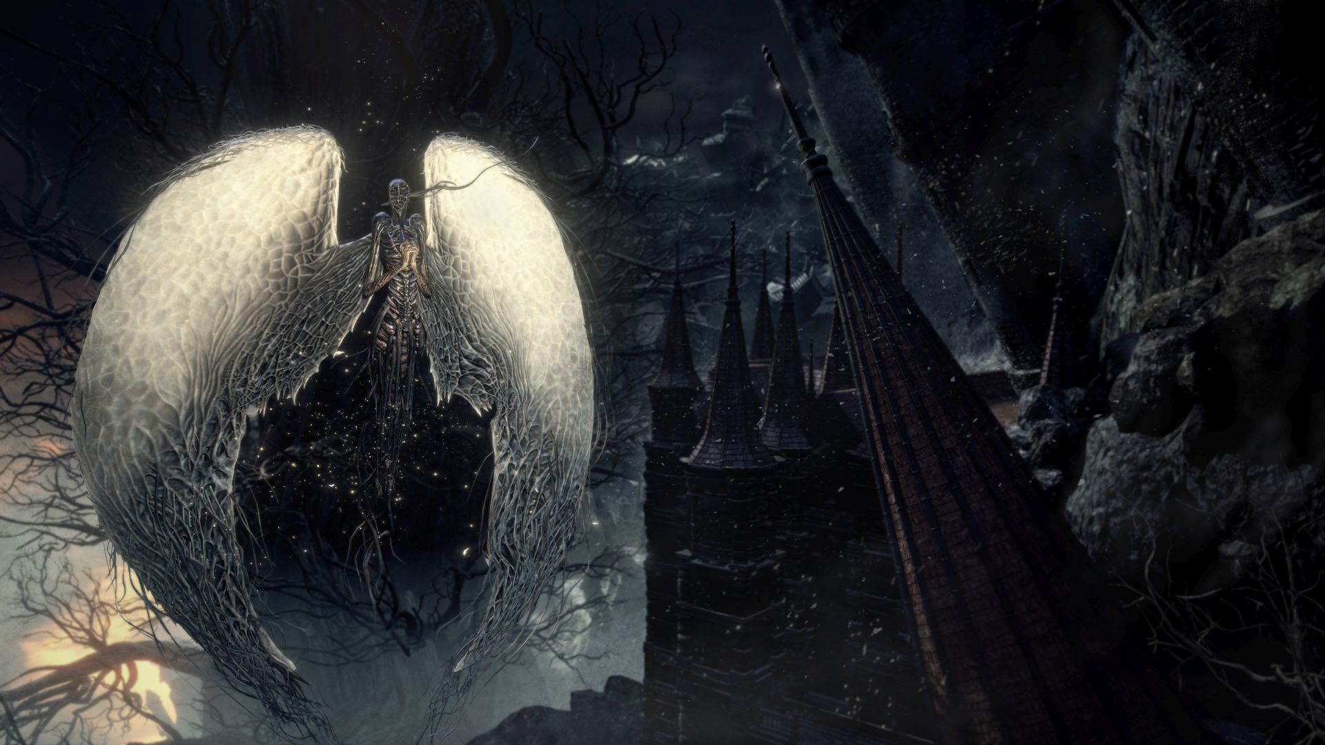 'Dark Souls III' (ALL) The Ringed City DLC - New Screens & Trailer
