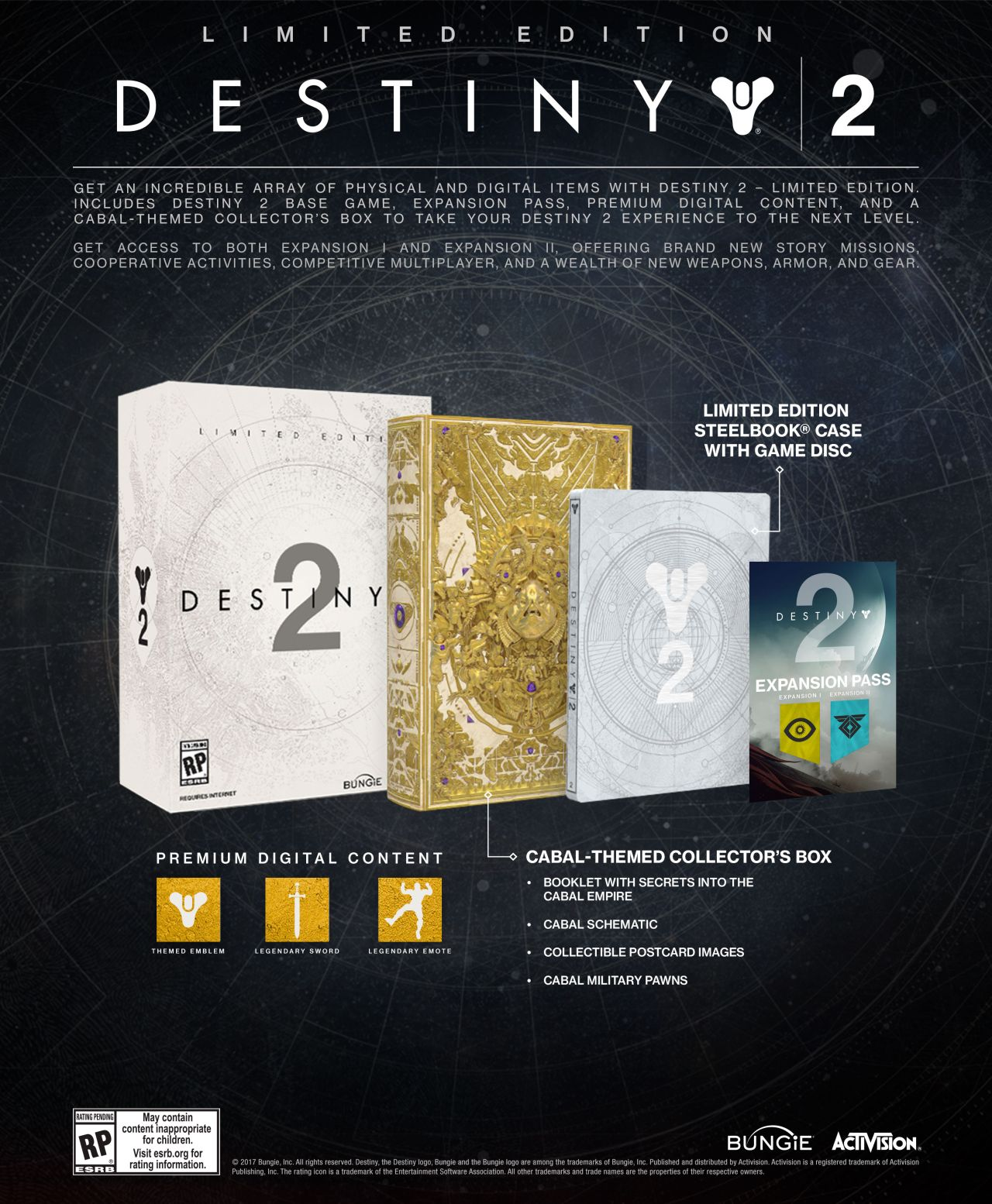 Destiny 2 collectors edition for sale - Destiny_2_limited_edition