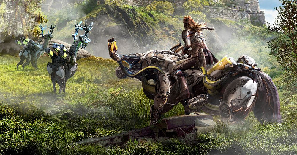 Guerrilla Games is working on an expansion for Horizon Zero Dawn