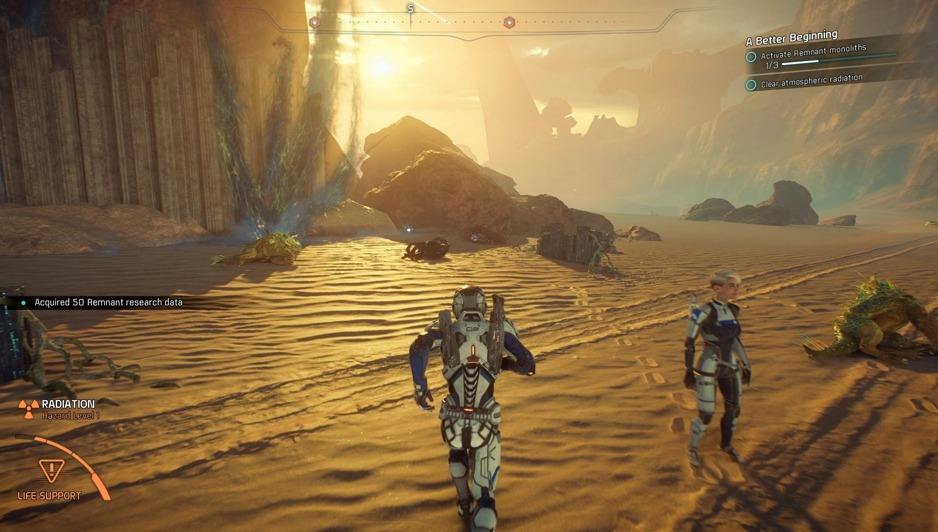 Mass effect andromeda guide a better beginning and activating the masseffectandromedaguide09 malvernweather Choice Image