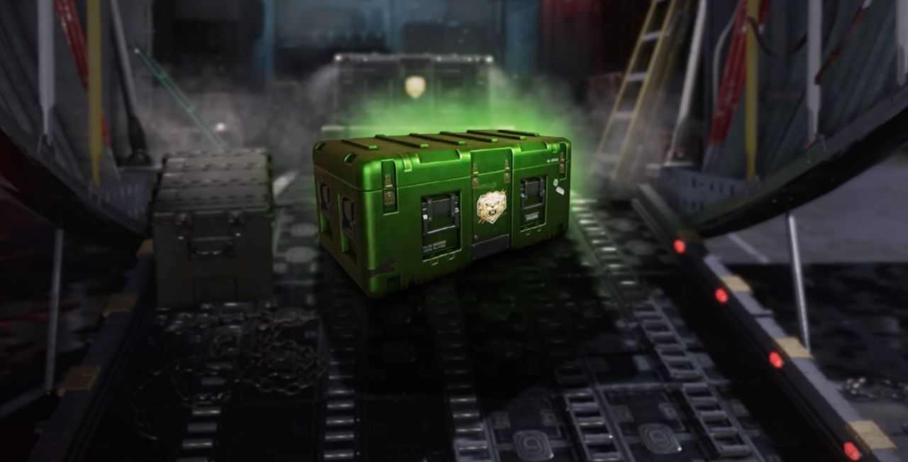 modern warfare remastered green supply drop
