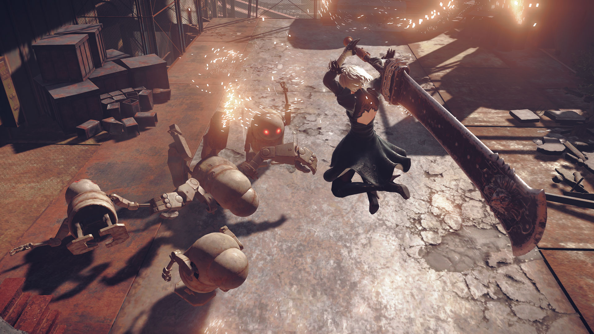 Automata Sales Hit 2 Million, Sequel is a Major Possibility — Nier
