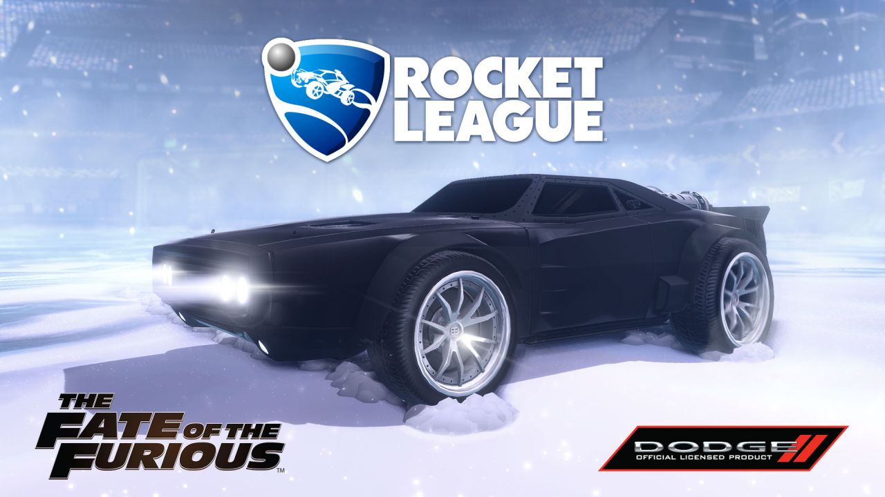 Rocket League - Fate of the Furious DLC Hits Next Month