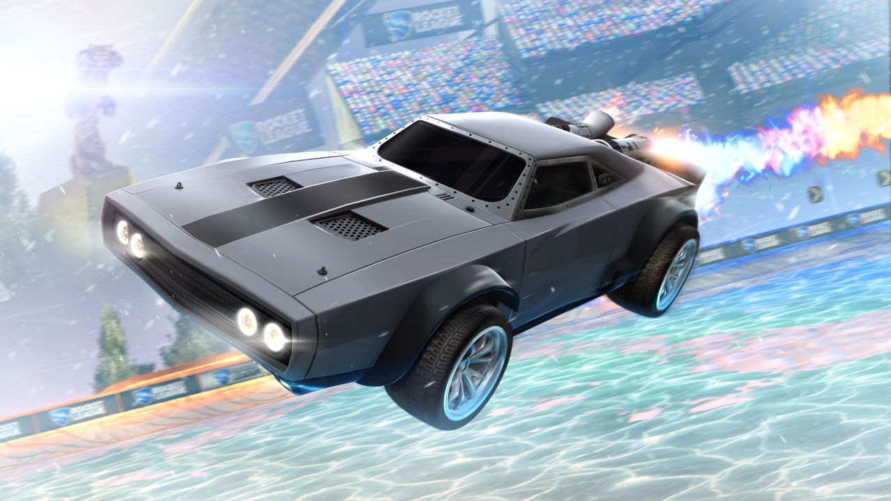 New Rocket League DLC Teams Up with Fast and Furious Movie