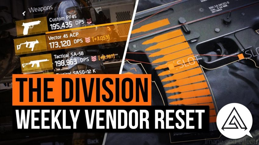 The Division Weekly Vendor reset: Navy MP5 N, LVOA-C and more - VG247