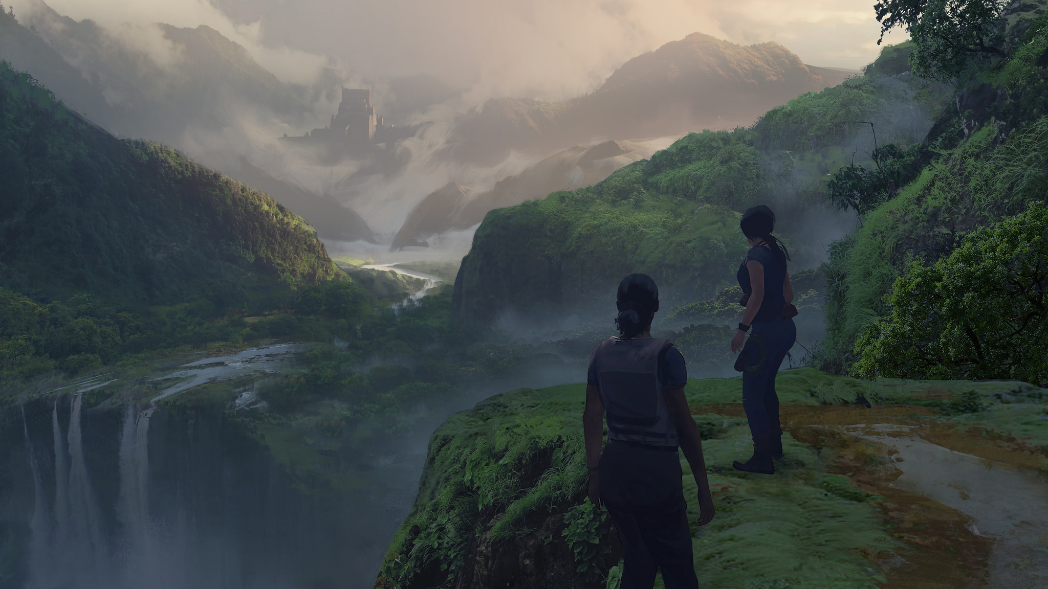 Uncharted: The Lost Legacy story trailer, screenshots