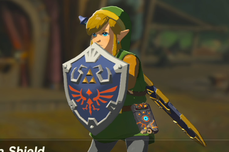 Zelda Breath Of The Wild How To Get The Hylian Shield Vg247