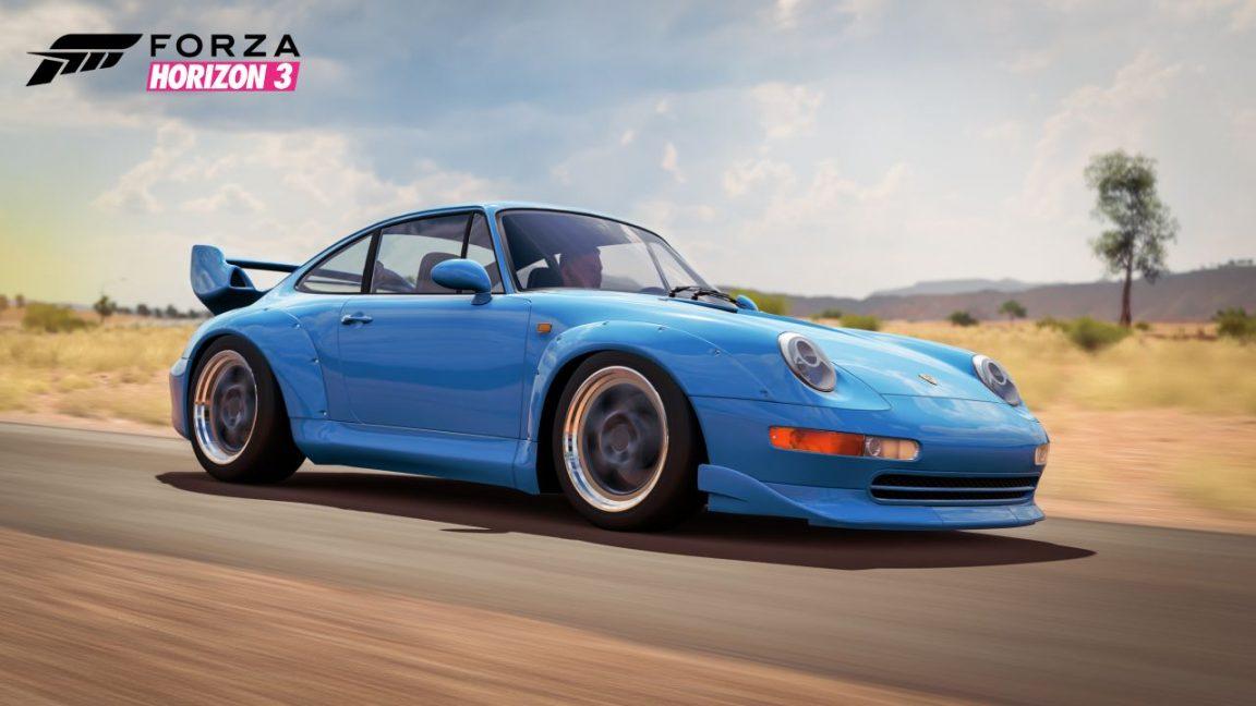 Forza Horizon 3 Porsche 911 GT2
