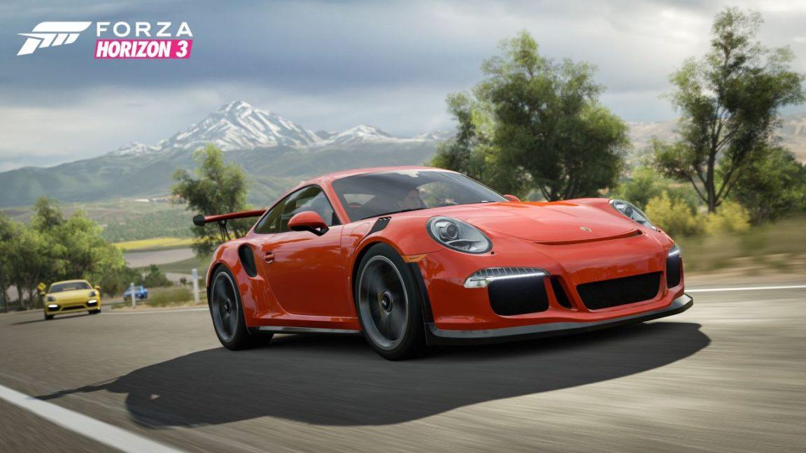 Forza Horizon 3 Porsche 911 GT3RS