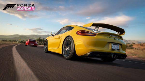 Forza Horizon 3 Porsche CaymanGT4