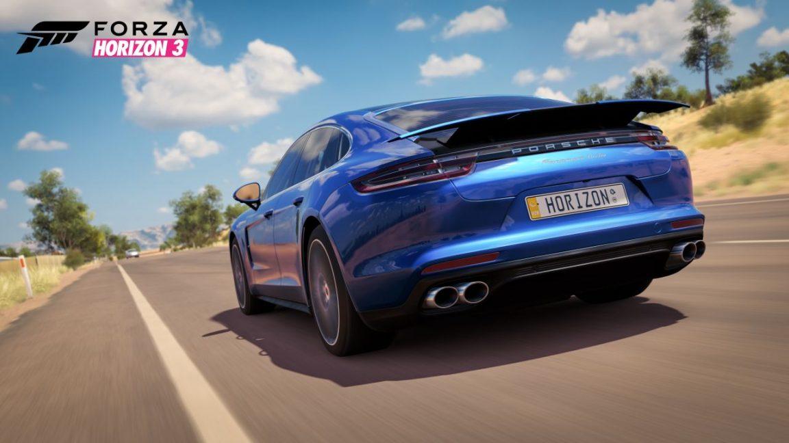 Forza Horizon 3 Porsche Panamera Turbo