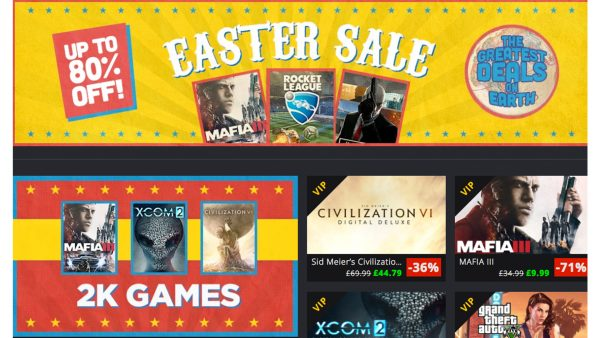 GMG Easter Sale