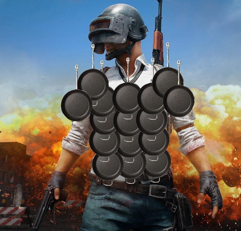 playerunknown s battlegrounds latest patch turned frying pans into