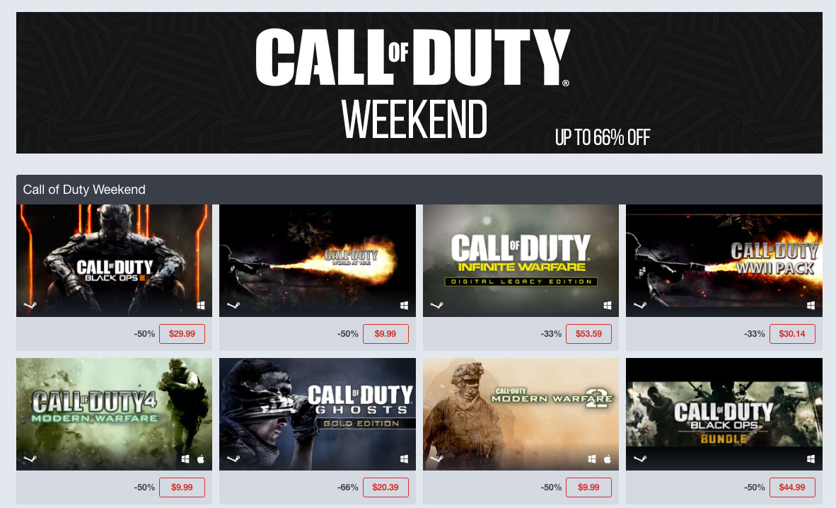 call_of_duty_weekend_humble_store_sale