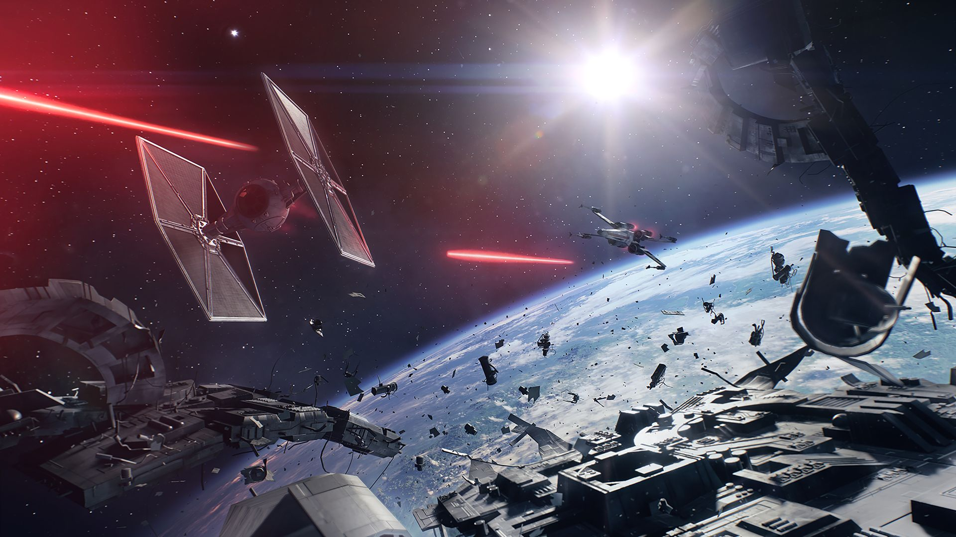 Star Wars Battlefront 2 Space Combat To Be Shown Off For The