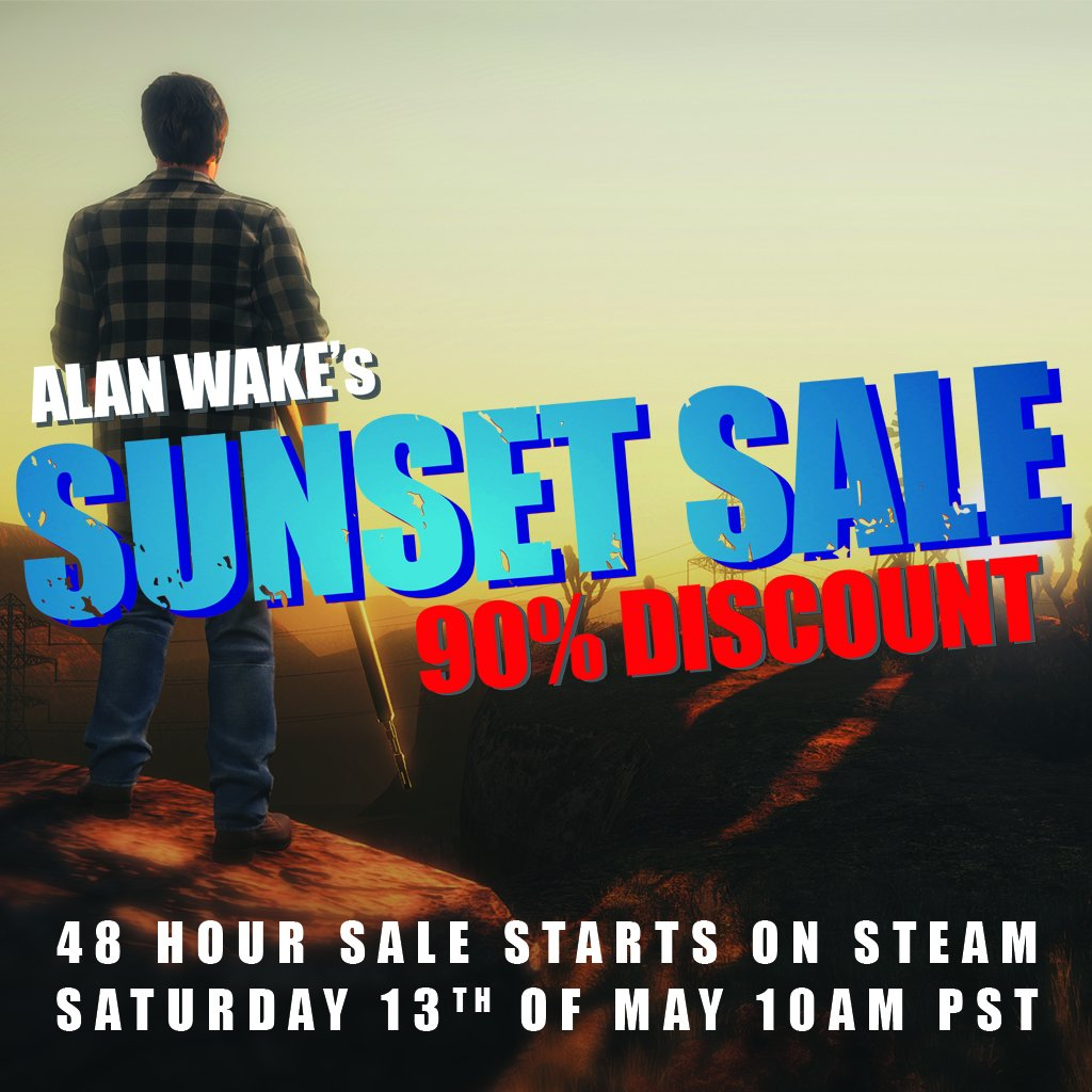 Alan Wake is disappearing from Steam after this weekend