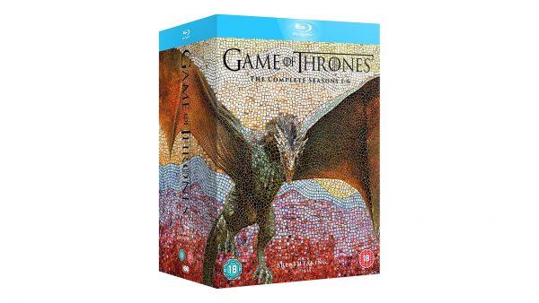 Game of Thrones Seasons 1 to 6 Bluray Box Set