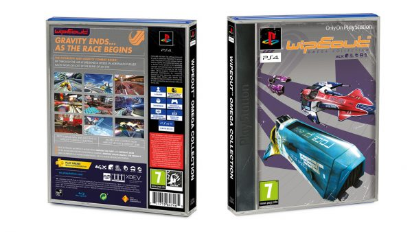 PS1 WipeOut Omega Collection Classic Sleeve pre-order PS4
