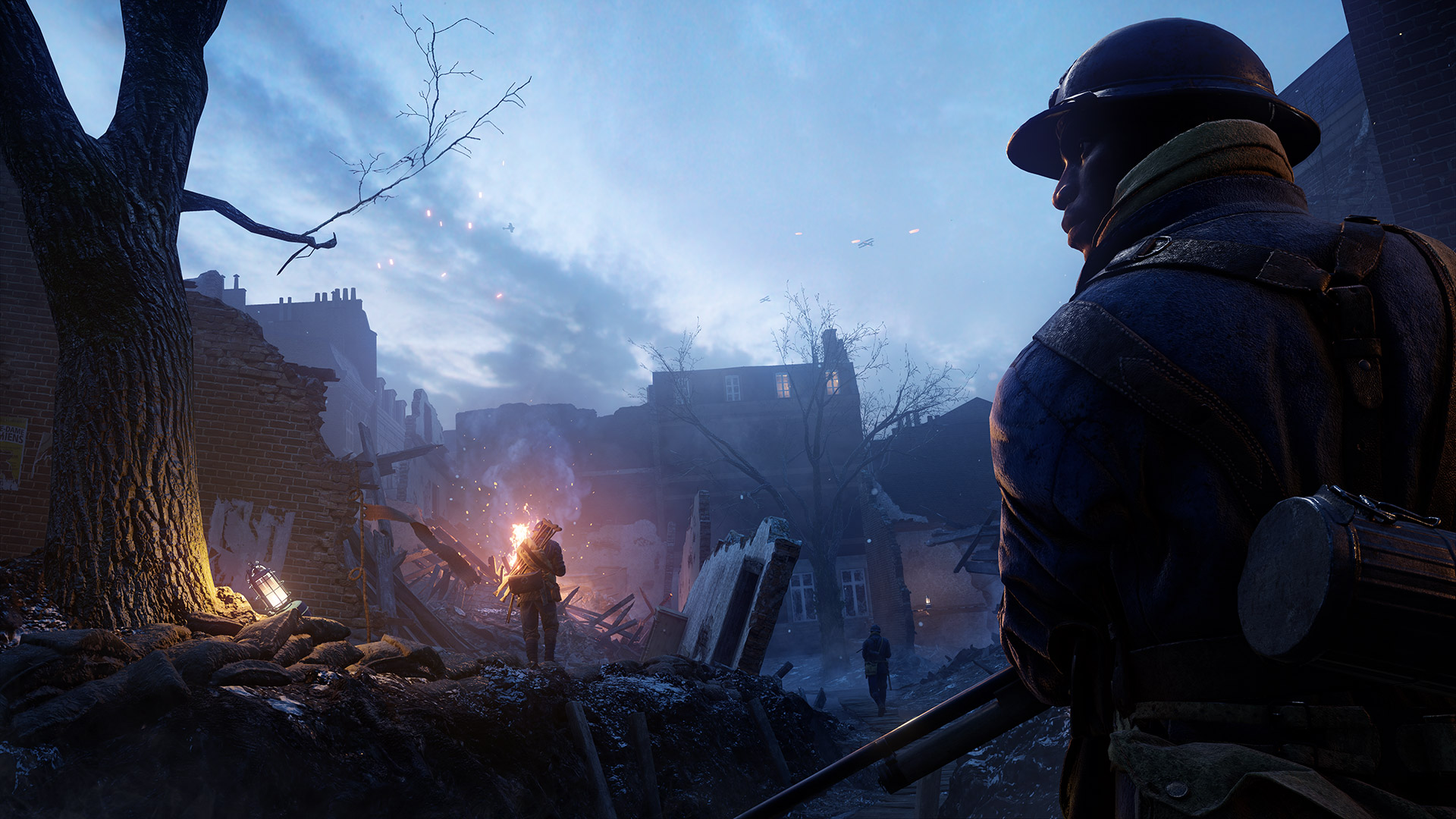 Battlefield 1 Prise De Tahure Map Free For All Turning Tides