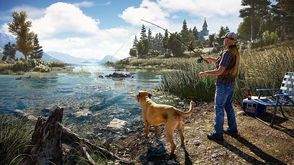 Far Cry 5's campaign is playable entirely in co-op