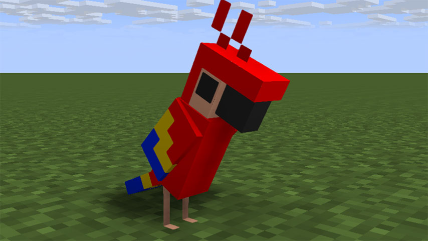 http://www.mineimatorforums.com/index.php?/topic/64724-minecraft-112-parrot/