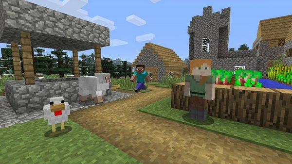 Minecraft's Docked Resolution on Nintendo Switch Increased to 1080p