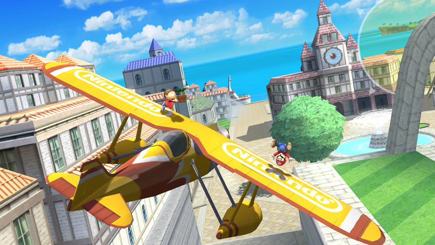 nintendo airplane