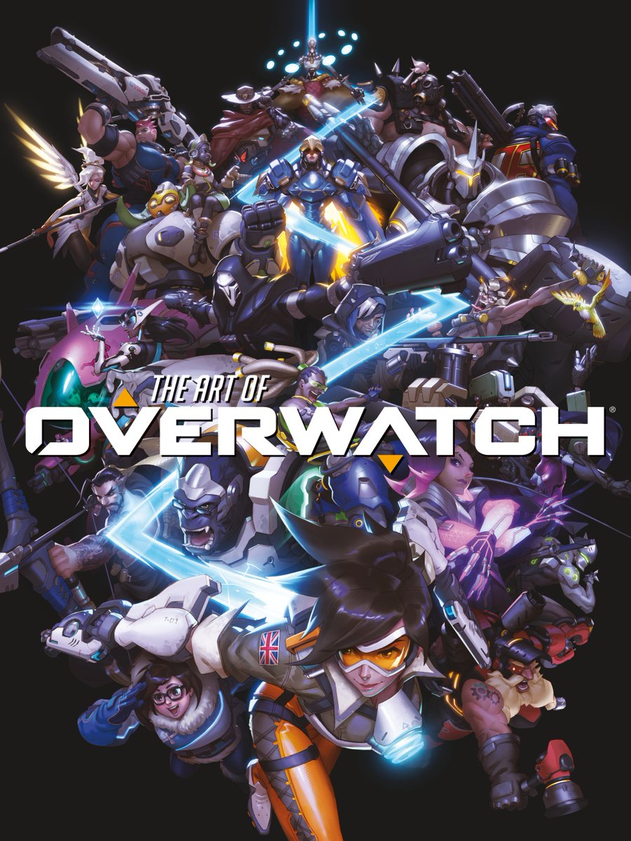 overwatch art book