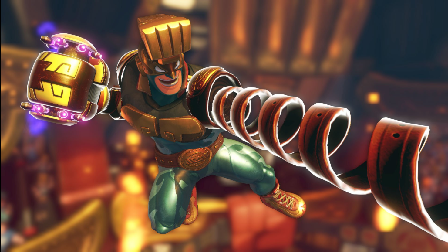 Arms Switch Max Brass