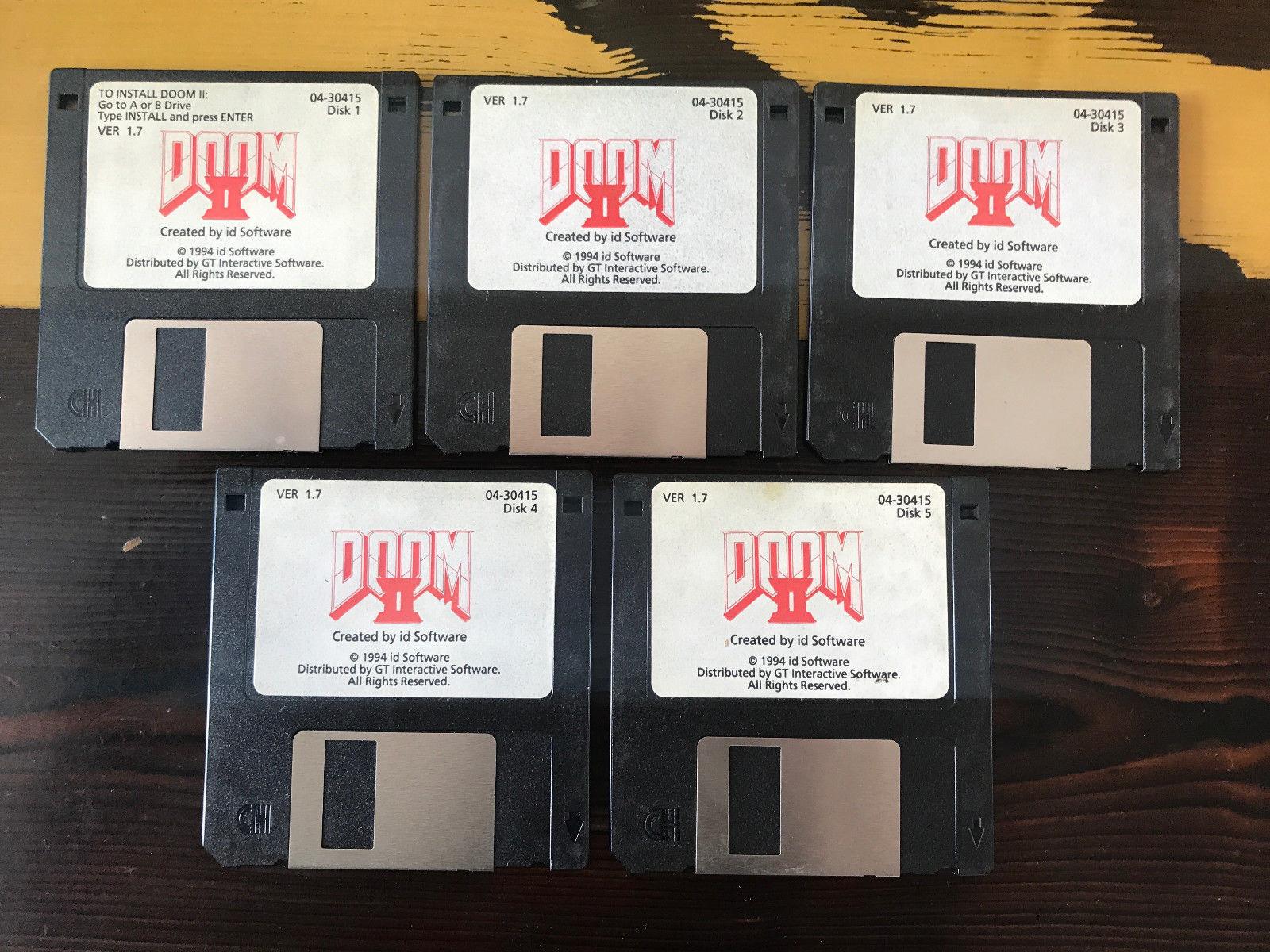 DOOM 2 disks