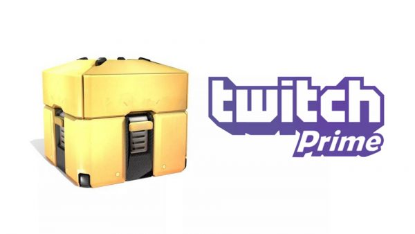 Overwatch gold loot box twitch prime