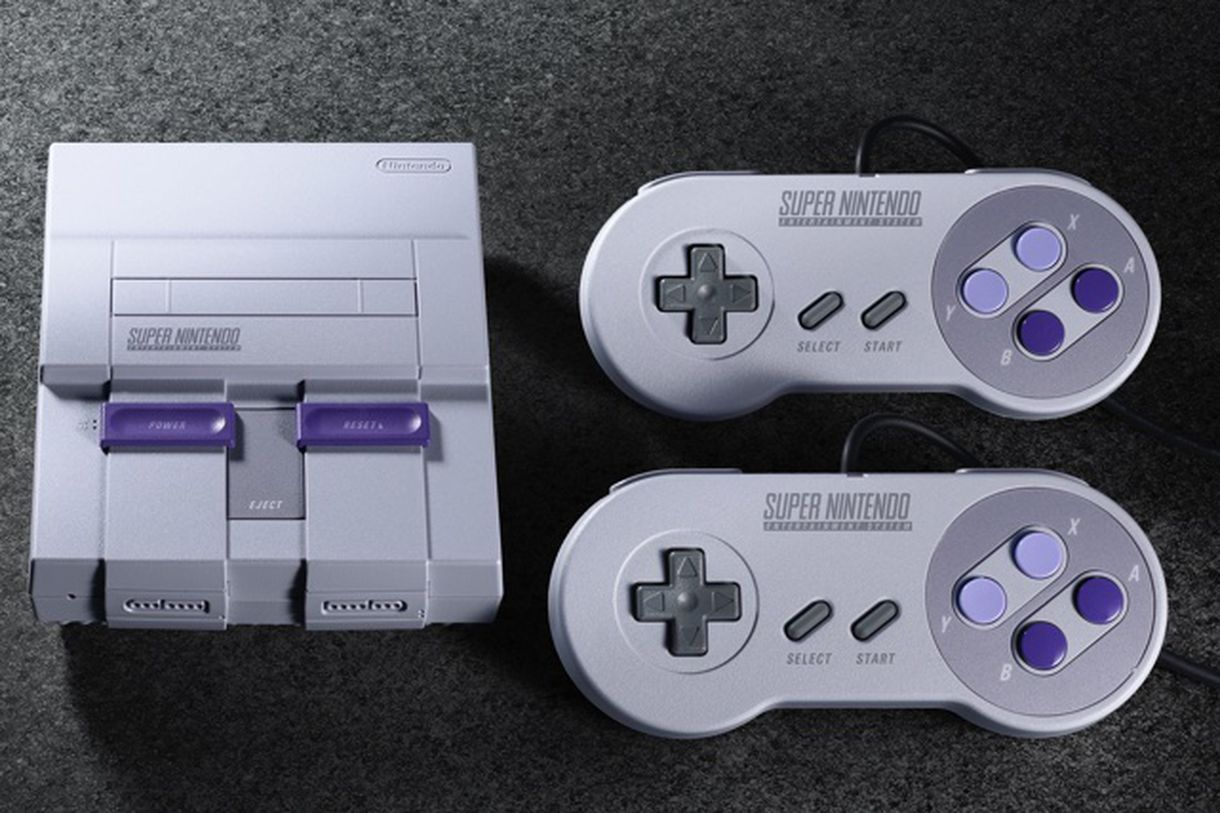 Nintendo Of America Announces SNES Classic Mini Preorders Later This Month