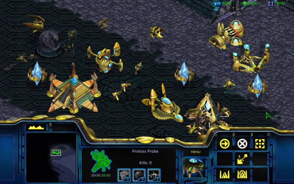 Starcraft Remastered ProtossHD