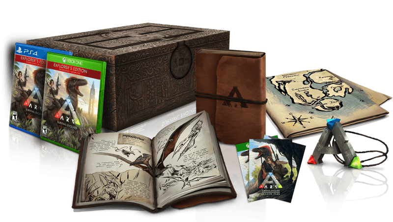 ark survival evolved collectors edition