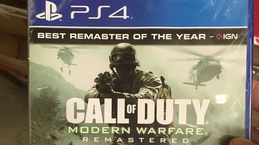 Leaked images reveal Call of Duty: Modern Warfare Remastered standalone